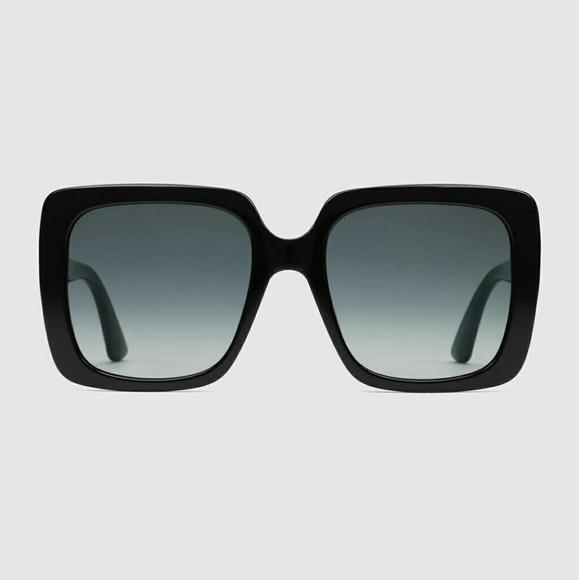 fdc2cdbe7f8 Gucci Eyewear crystal logo sunglasses